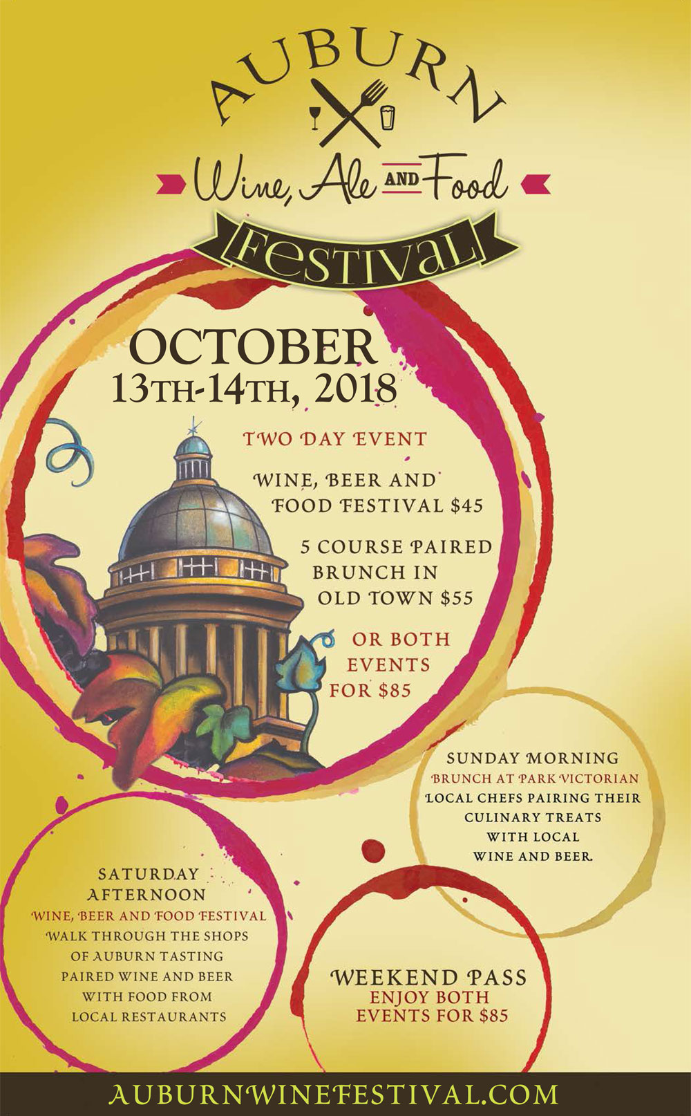 Auburn Wine Ale Food Festival Lone Buffalo Vineyards